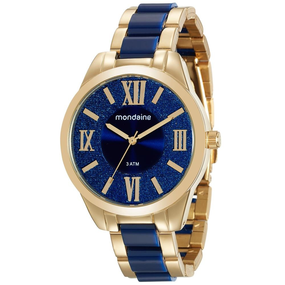 1938ab60658 relógio feminino analógico mondaine 76682lpmvde1 - dourado. Carregando zoom.