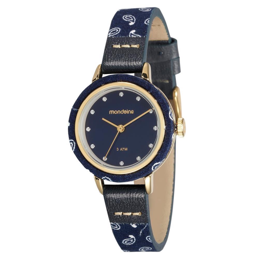 c09b719e3e6 relógio feminino analógico mondaine 89003lpmvdh1 azul. Carregando zoom.