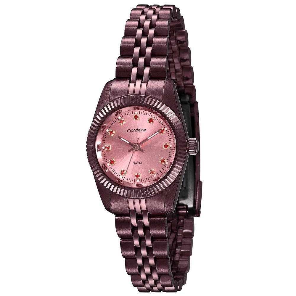 1abcc881464 relógio feminino analógico mondaine 99169lpmvys2 vermelho. Carregando zoom.