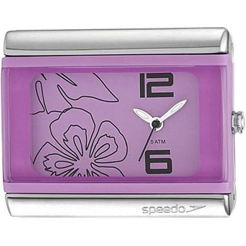 relógio feminino analógico speedo essential flower 80538l0eb