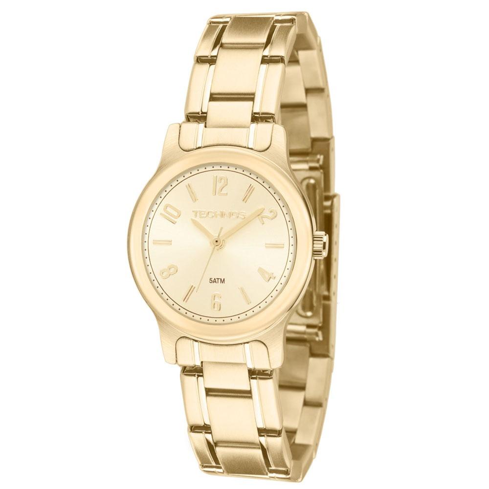 4d6baa90d1b15 relógio feminino analógico technos 2035lry 4x - dourado. Carregando zoom.