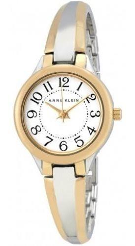 relógio feminino anne klein 2453-wttt