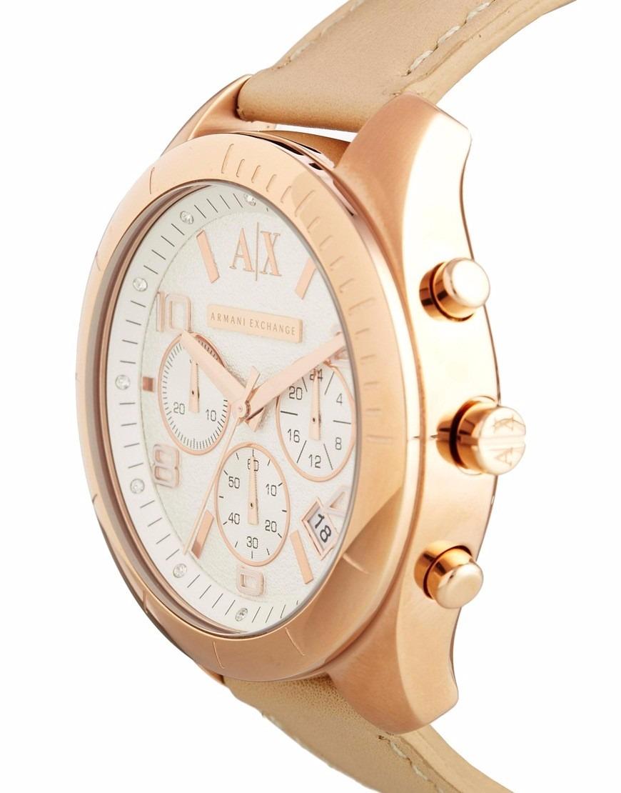 8b10c4b7da9 Relógio Feminino Armani Exchange Ax5504 Sarena Chronograph J - R ...