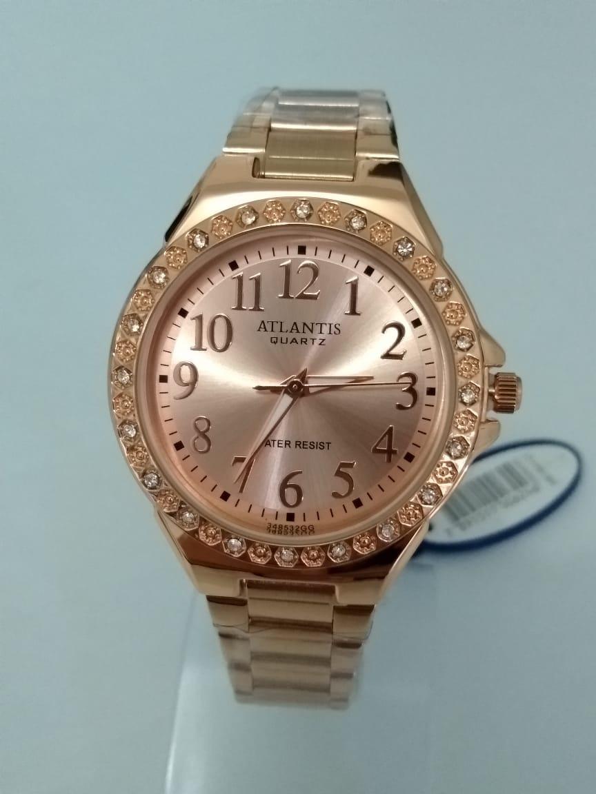 d38a51b4eba relógio feminino atlantis rosé g3485. Carregando zoom.