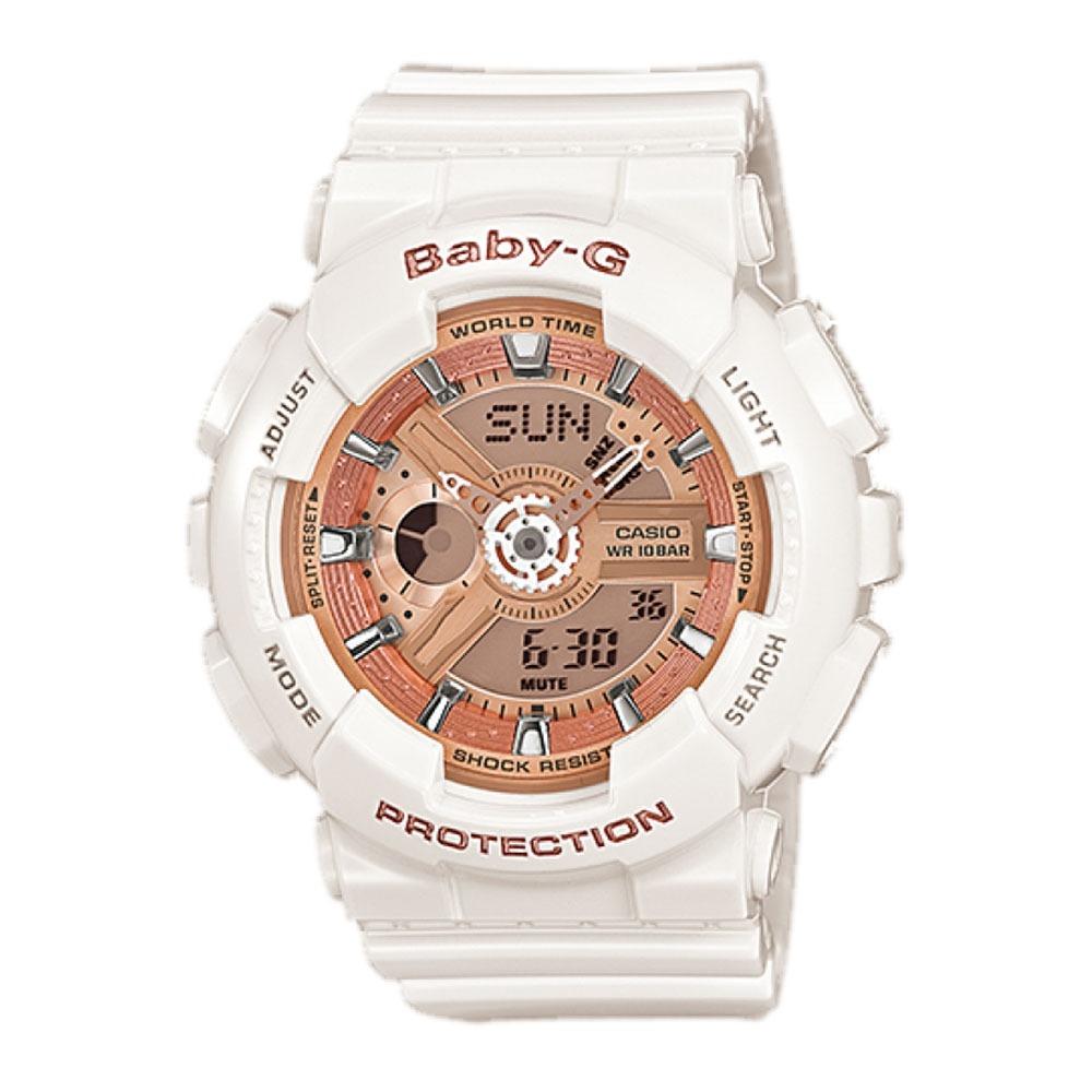 75c26e295d1 relógio feminino baby-g analógico digital ba-110-7a1dr. Carregando zoom.