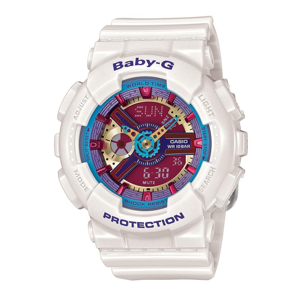 022356f67f0 relógio feminino baby-g analógico digital ba-112-7adr. Carregando zoom.