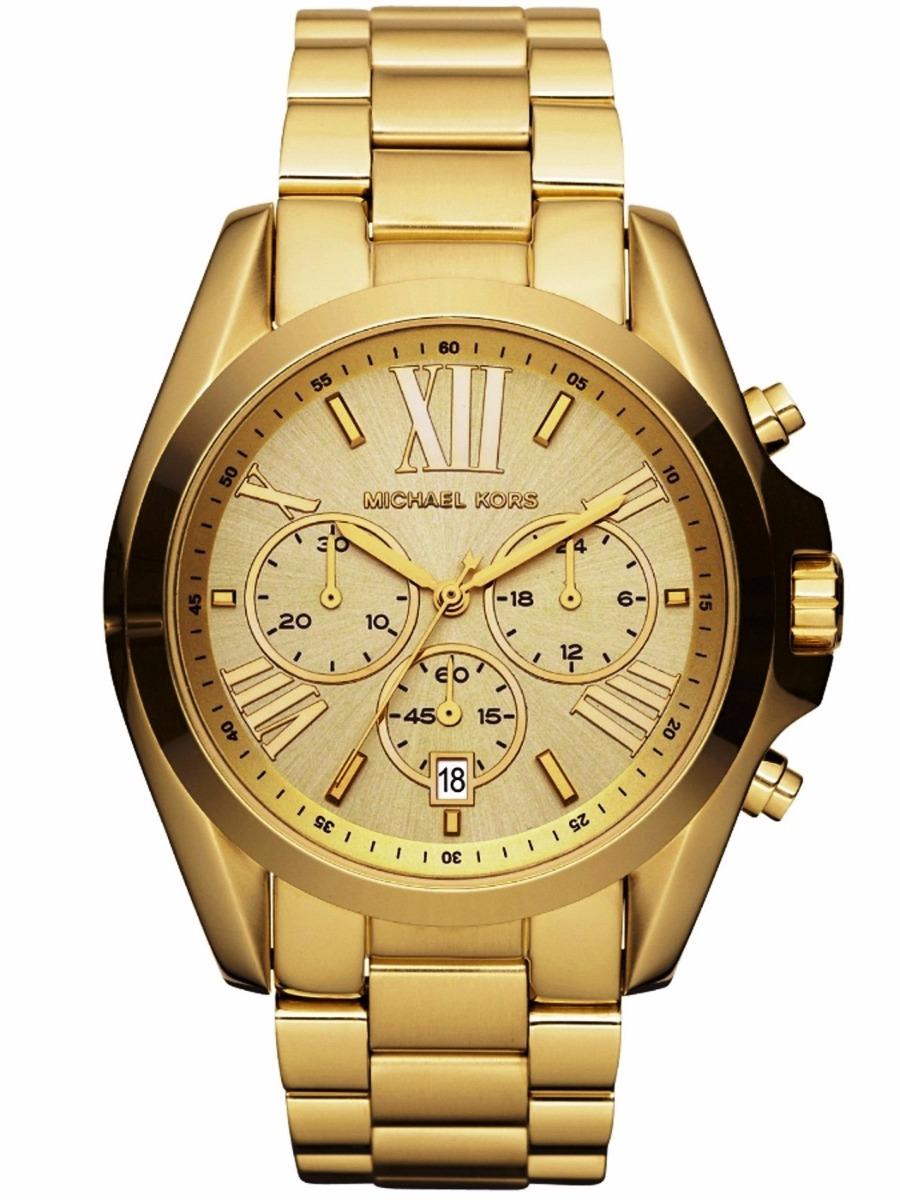 d378df8a560a7 Relógio Feminino Banhado A Ouro Michael Kors Oferta - R  598,99 em ...