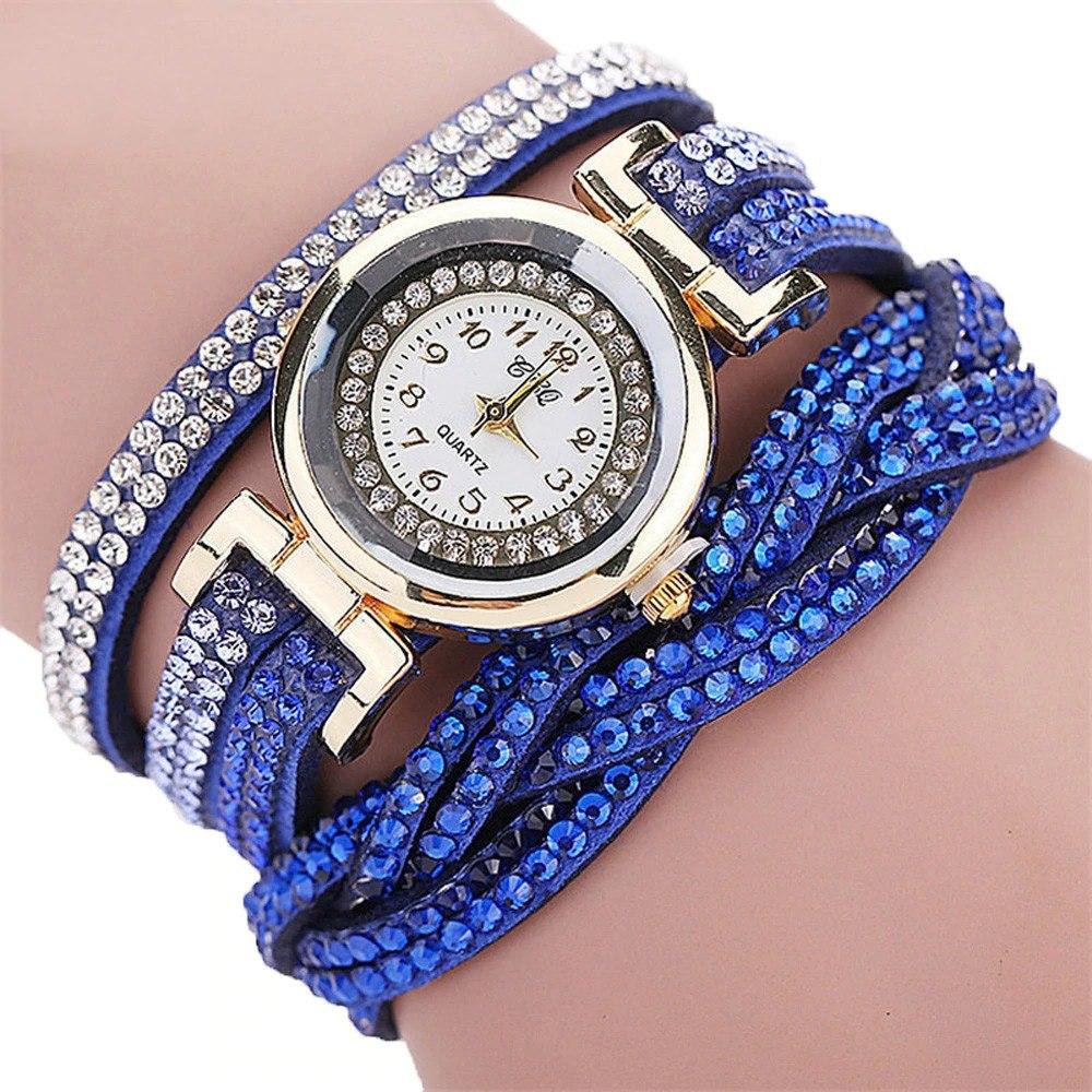ba206d8f22a relógio feminino barato bracelete dourado promoção. Carregando zoom.