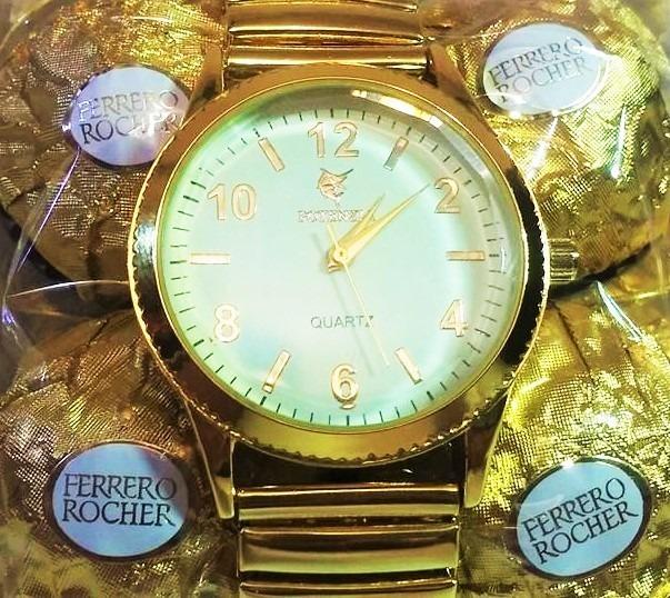 eec2e136410 Relógio Feminino Barato Marca Famosa Na Caixa De Bombom - R  78