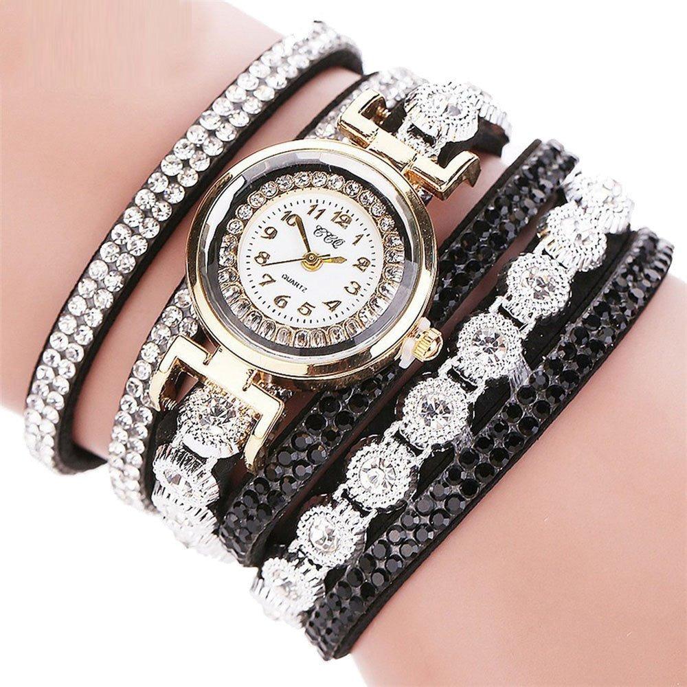 f67e5b7dde6 relógio feminino c43 barato strass pulseira bracelete brinde. Carregando  zoom.
