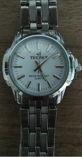 relógio feminino caixa pequeno prata 35mm a prova dágua