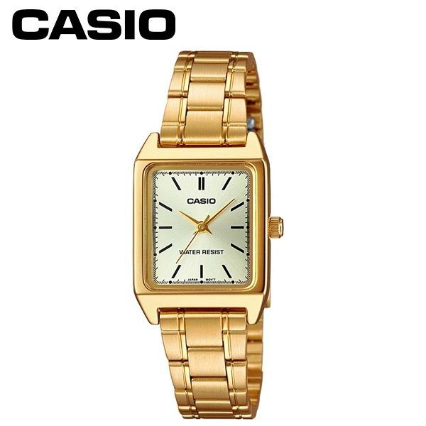 e0910da79dd Relógio Feminino Analógico Casio Dourado