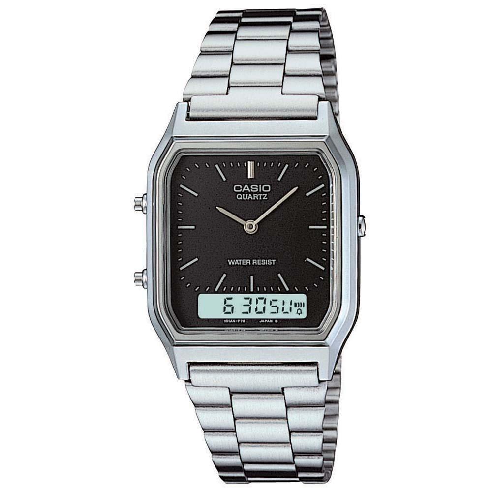 79a008235 Relógio Feminino Casio Analógico digital Social Aq-230a-1dmq - R ...