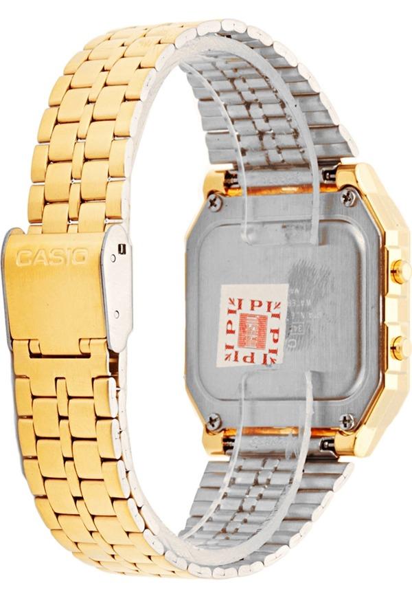 92ec5f6086f8d Relógio Digital Feminino Casio Vintage A500wga-9df - Dourad - R  349 ...