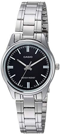 ab4d318cb36 Relógio Feminino Casio Aço Prata Analógico Mtp V005d 1audf - R  268 ...