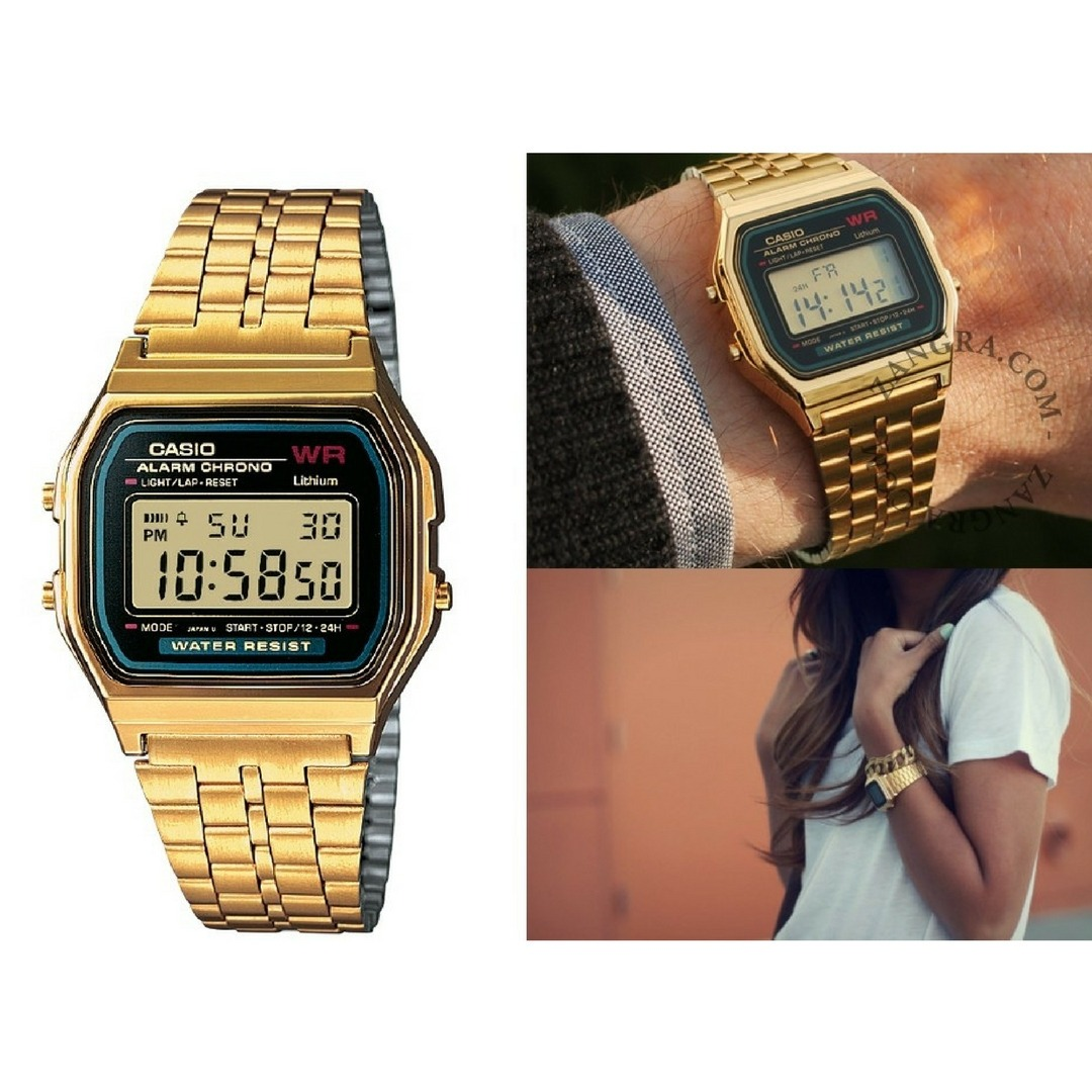 6445129f099 relógio feminino casio la670 wga vintage original oferta. Carregando zoom.