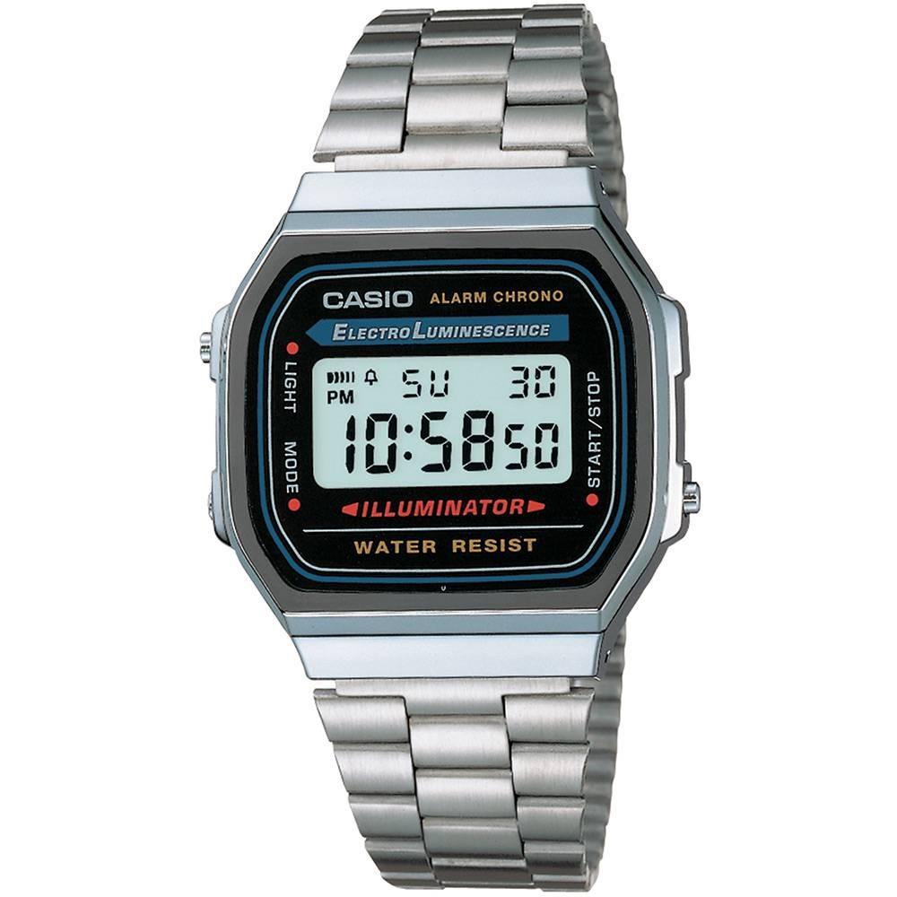 d699df4d9afbf relógio feminino casio vintage digital fashion a168wa-1wdf. Carregando zoom.