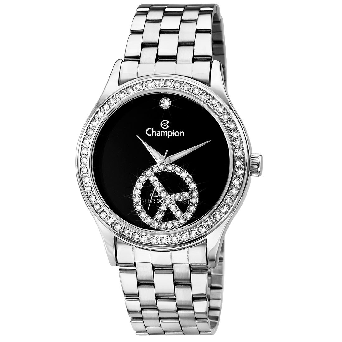 64cd781424f relógio feminino analógico social champion peace - ch25785t. Carregando  zoom.