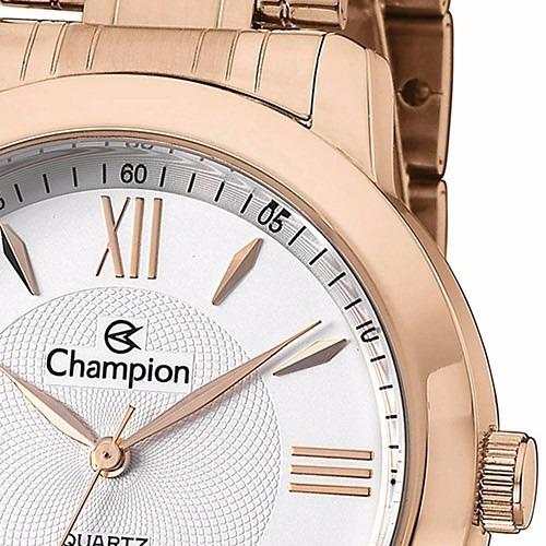 3a33530c9d6 Relógio Feminino Champion Rose Ch24697z Original - R  239