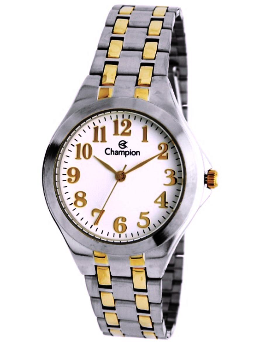 26e7990fe55 relógio feminino champion prata dourado ch22877b oferta. Carregando zoom.