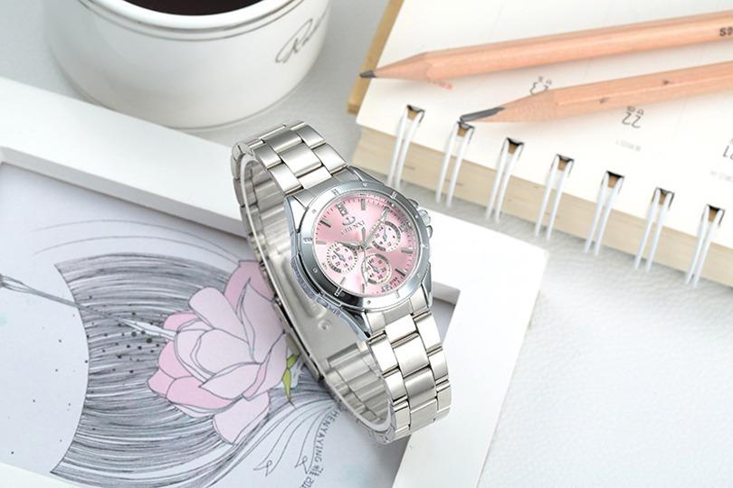 f3b83778a86 relógio feminino chenxi aço inox analógico quartzo promoção. Carregando zoom .