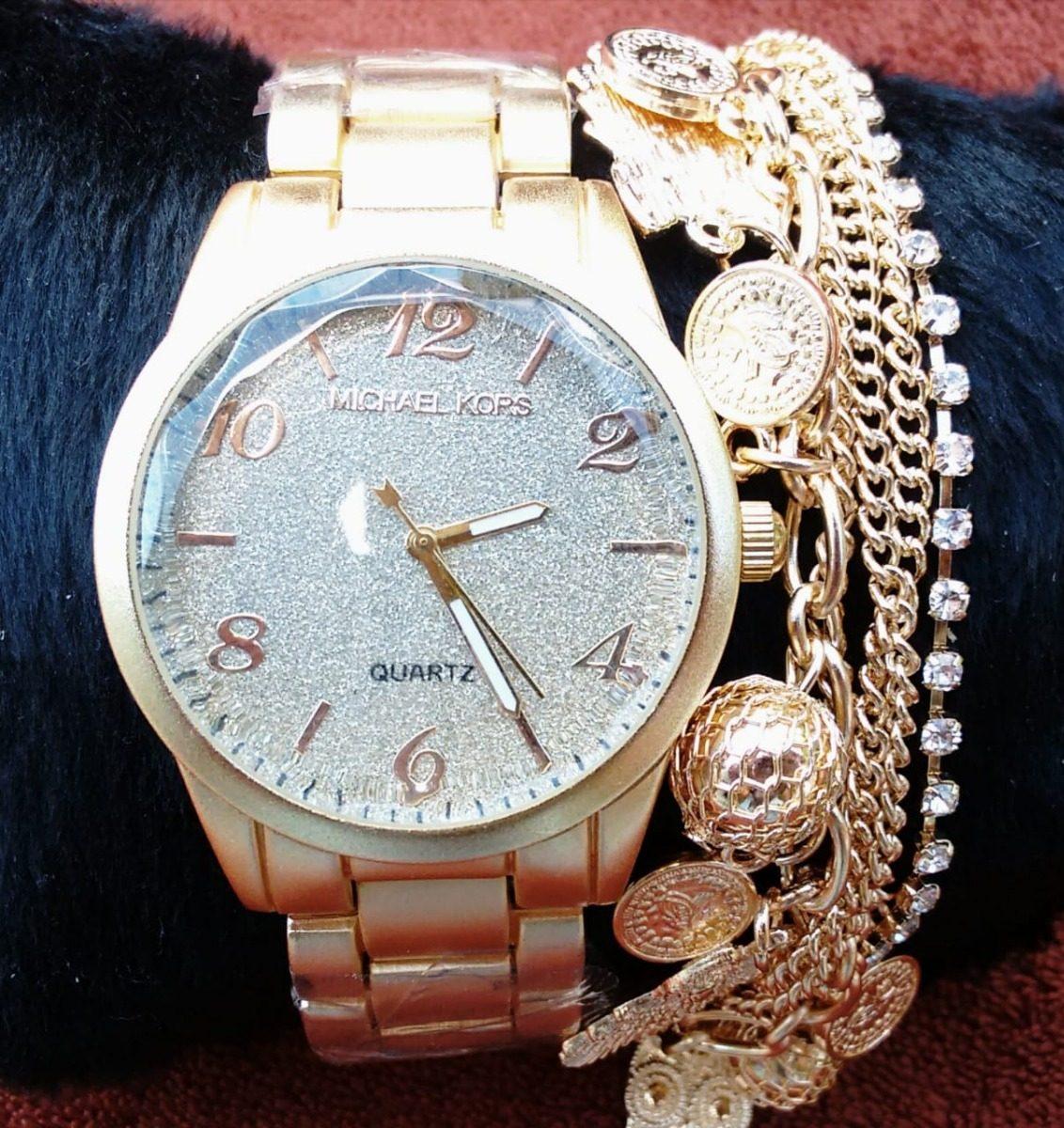 a8b08e62727 relógio feminino ck dourado luxo analógico rose doura caixa. Carregando zoom .