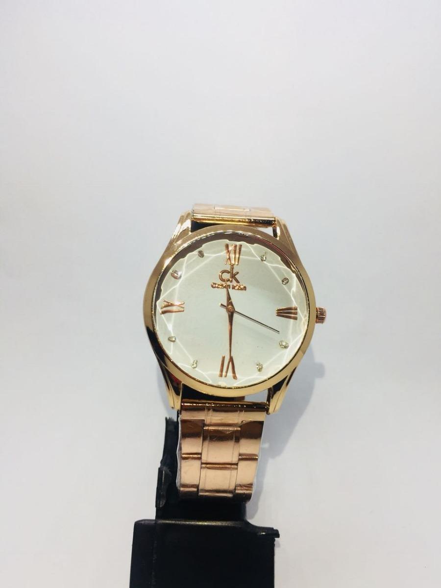 d85f01e3c78 relógio feminino ck luxo dourado analógico pronta entrega. Carregando zoom.