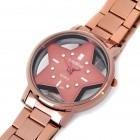 relógio feminino com estrela pt lula