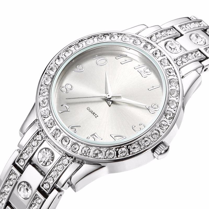 b3e0b0bc858 relógio feminino comprar barato no mercado livre brilhante. Carregando zoom.