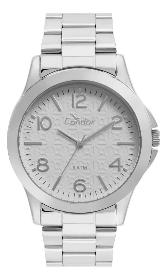 9fd5122d05c Relógio Feminino Condor Analógico Co2036kuf 3c Prata - R  159
