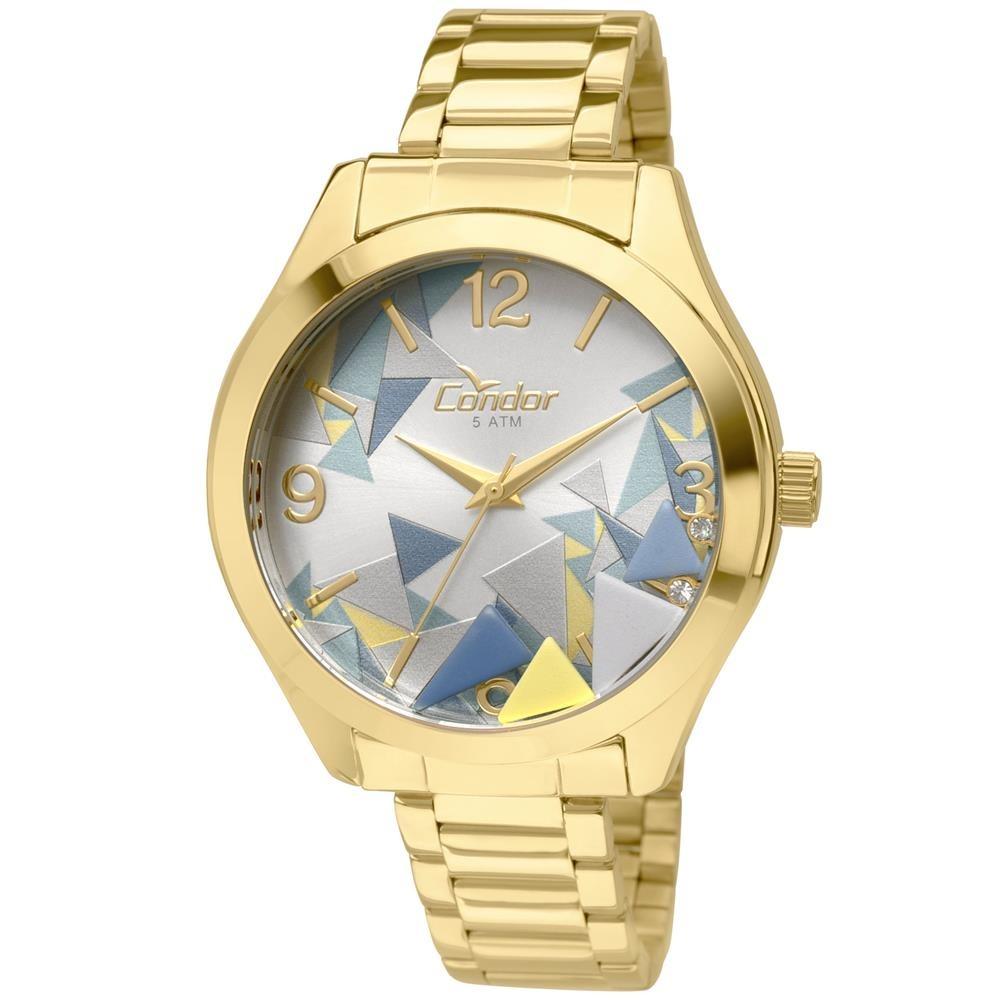6227a103f5a Relógio Feminino Analógico Condor Fashion Co2036kod 4k - R  148