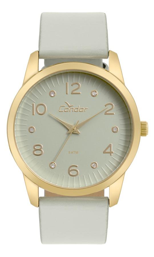 Relógio Feminino Condor Analógico Co2035kwe 2c Ouro - R  149,99 em ... 224bef1bc9
