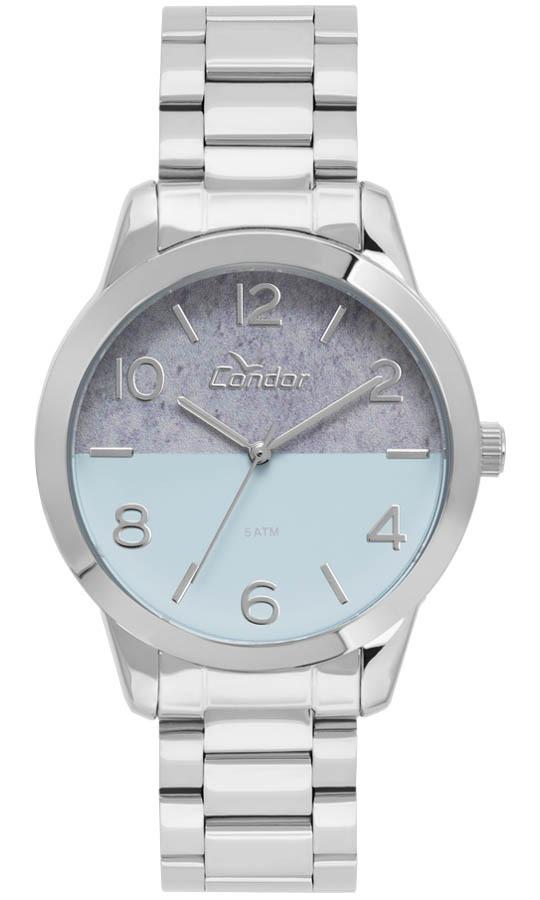 3303ed16317 Relógio Feminino Condor Analógico Co2035kwb 3a Prata - R  159
