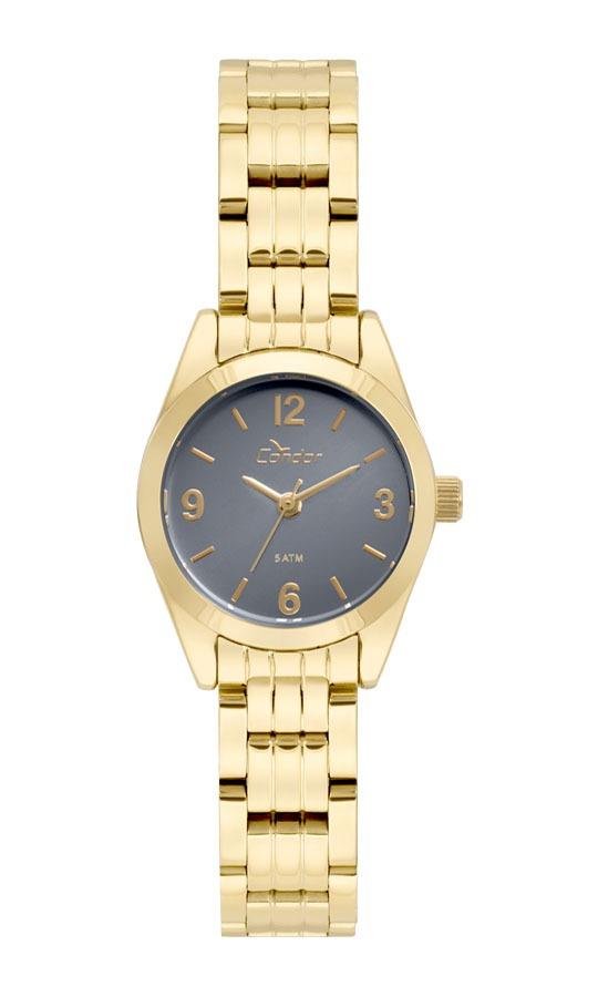 Relógio Feminino Condor Analógico Co2036kua 4a Ouro - R  159,00 em ... 3539e7be03