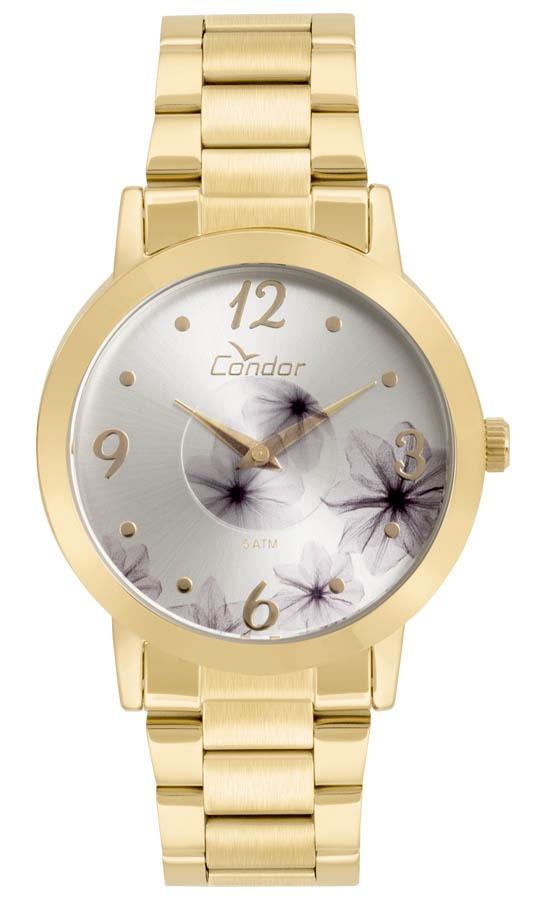 Relógio Feminino Condor Analógico Co2035kvw 4k Ouro - R  149,99 em ... dd88c910f4