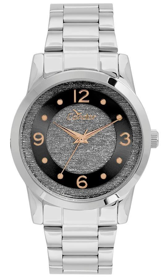 81a717125a9 Relógio Feminino Condor Analógico Co2039ap k3p Prata - R  169