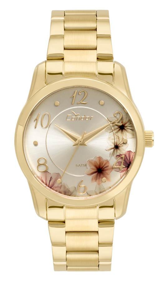 Relógio Feminino Condor Analógico Co2039at 4d Ouro - R  179,00 em ... 531a43dab9
