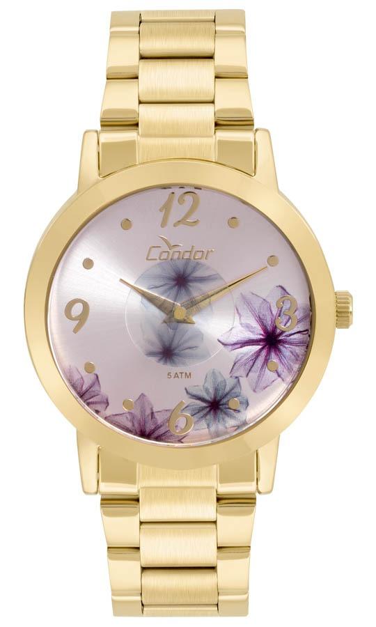 Relógio Feminino Condor Analógico Co2035kvw 4g Ouro - R  199,00 em ... 133e051e21