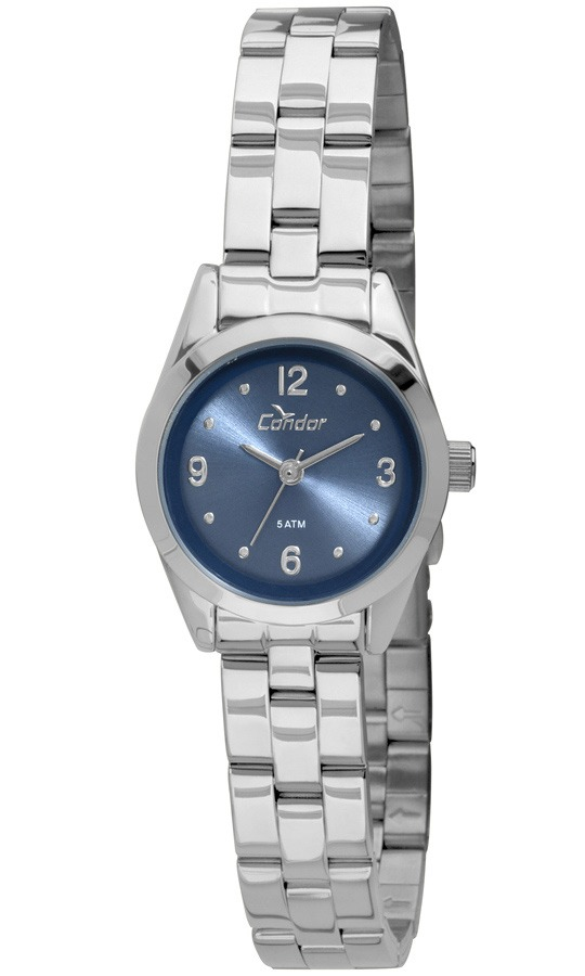 83e82d687d5 Relógio Feminino Condor Analógico Co2035kme 3a Prata - R  149