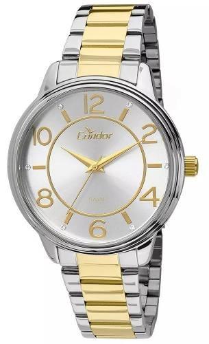Relógio Feminino Condor Dourado E Prata C  N F Oferta - R  151,00 em ... 24e11374d4