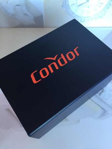 relogio feminino condor kit joia co2035nfn/k4m berloque