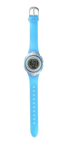 relógio feminino copper azul es095 alarme atrio - outlet