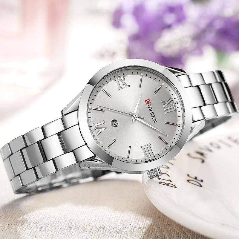 60ad35b857e relógio feminino curren modelo 9007 frete grátis. Carregando zoom.