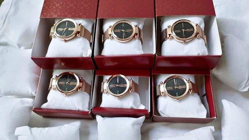 relógio feminino de luxo céu estrelado com correia magnetica