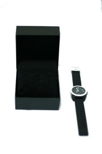 relógio feminino de ponteiro pulseira de borracha promoção