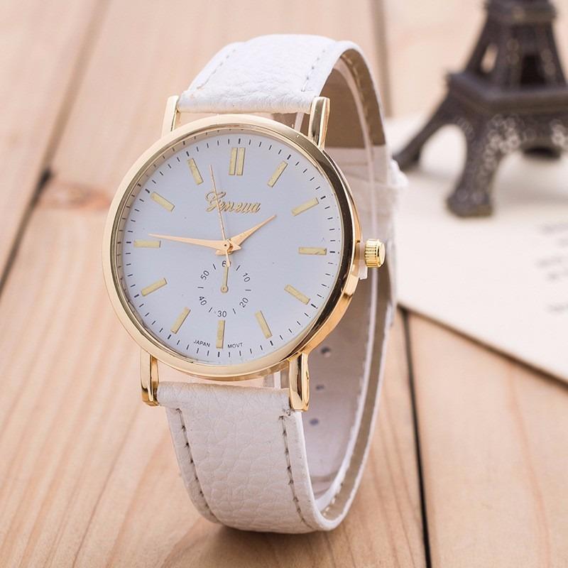 ce5cb6f6e1a relógio feminino de pulso clássico discreto bonito e barato. Carregando  zoom.