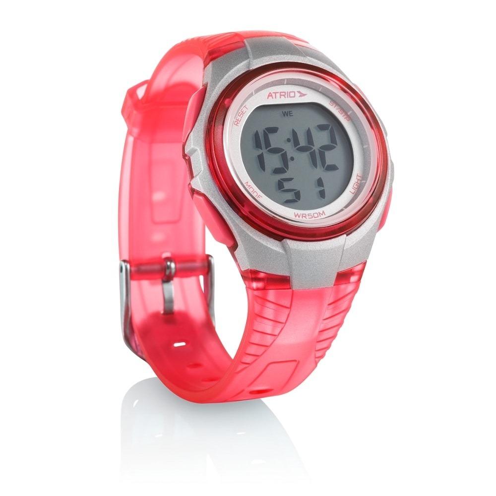 85e798ed58e relógio feminino digital esportivo prova d agua atrio. Carregando zoom.