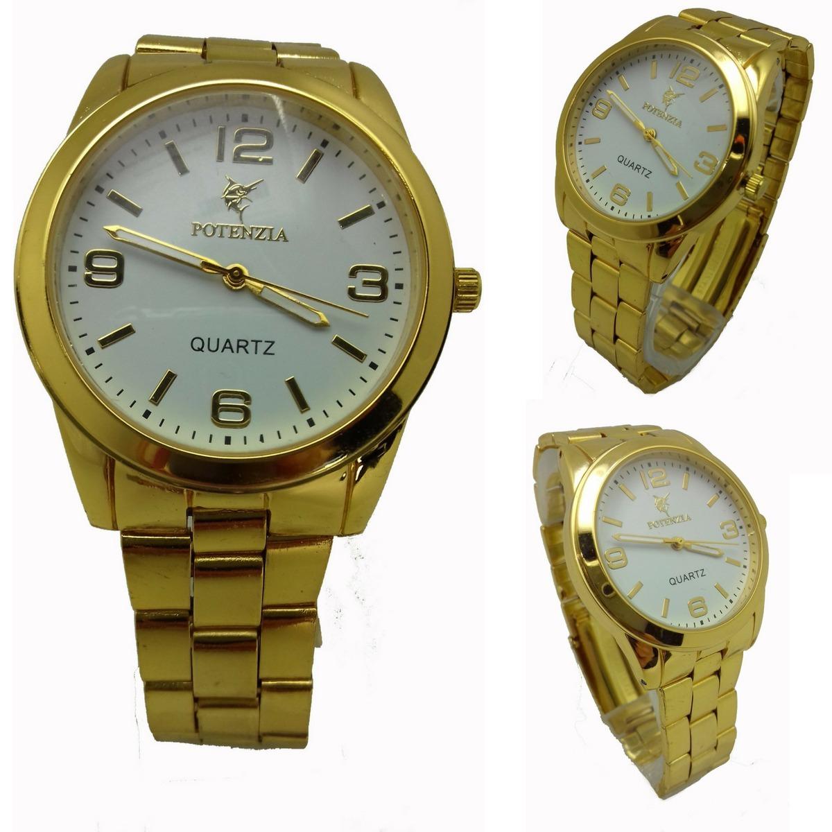 e364f1cdc5c relógio feminino dourado a prova d água barato. Carregando zoom.