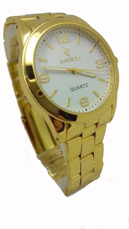 aa6b3e0622 relógio feminino dourado a prova d água barato. Carregando zoom.