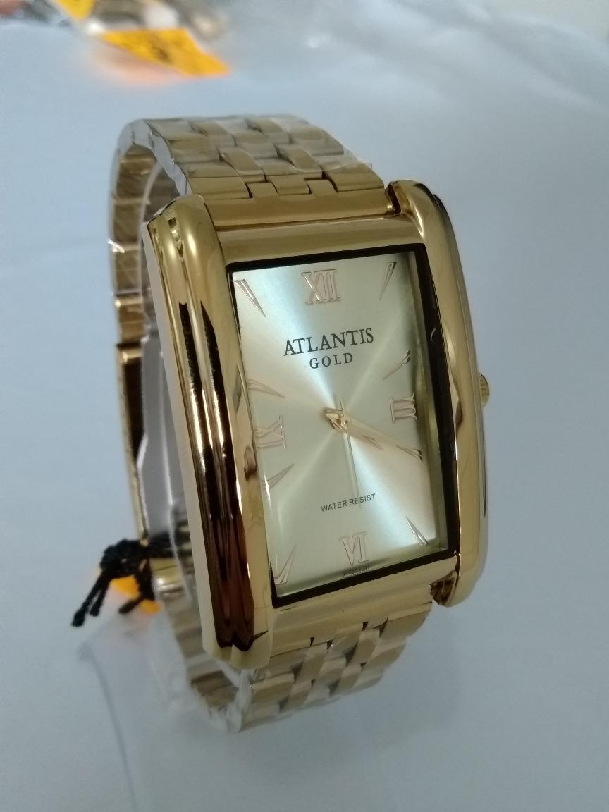 830a17951af relogio feminino dourado atlantis original g-3463 gold. Carregando zoom.